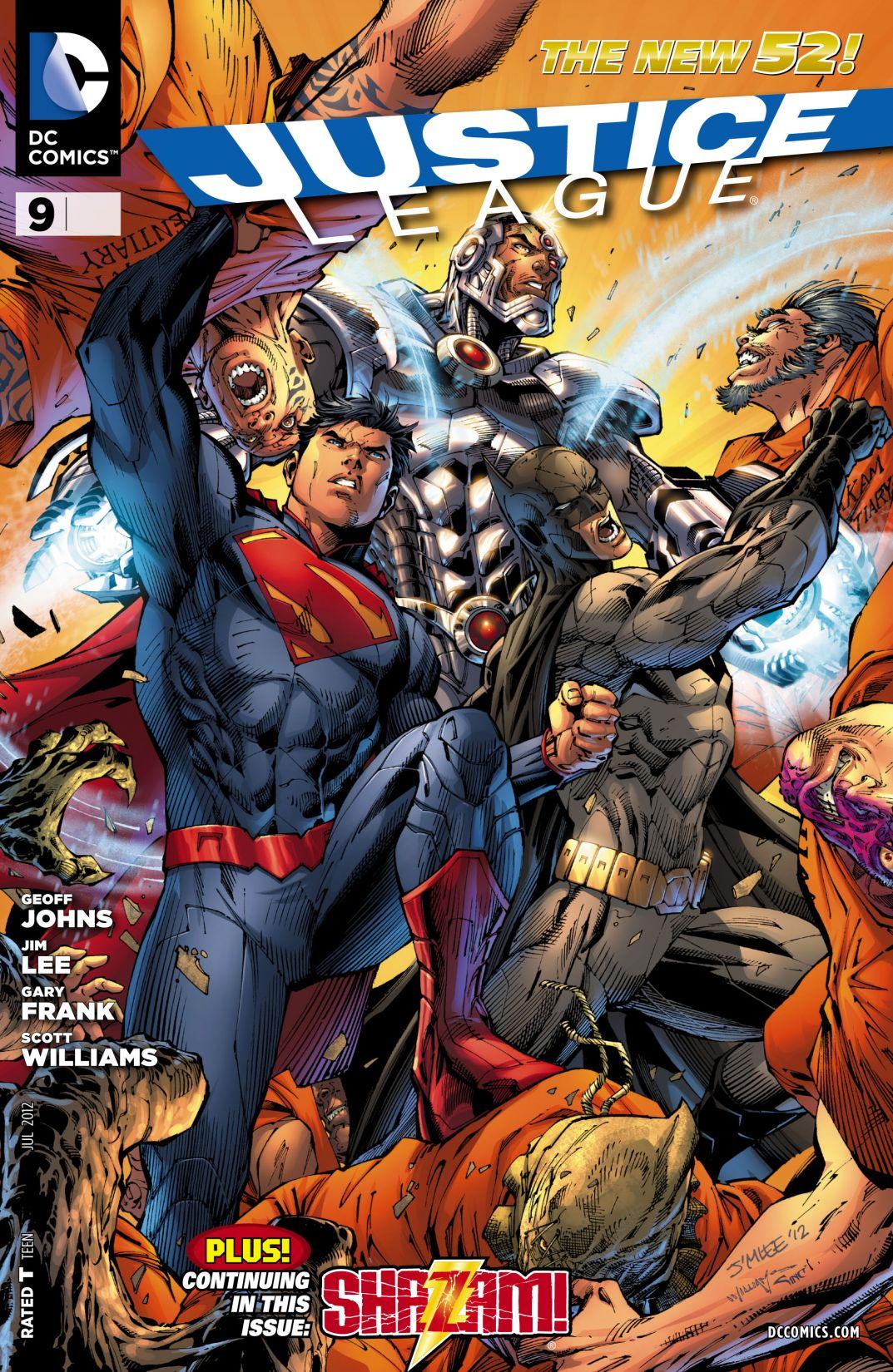 Liga da Justiça Vol 2 9