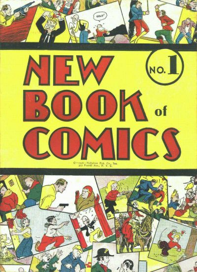 New Book of Comics Vol 1