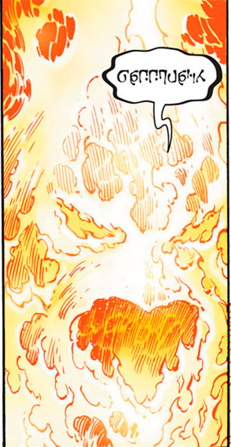Criatura Flamejante (Terra Primal)