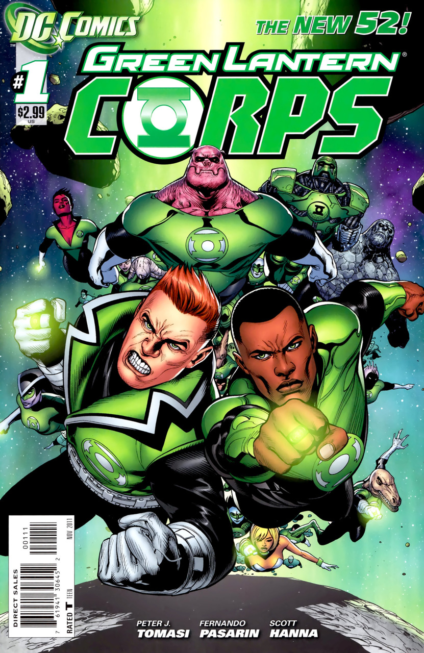 Tropa dos Lanternas Verdes Vol 3 1
