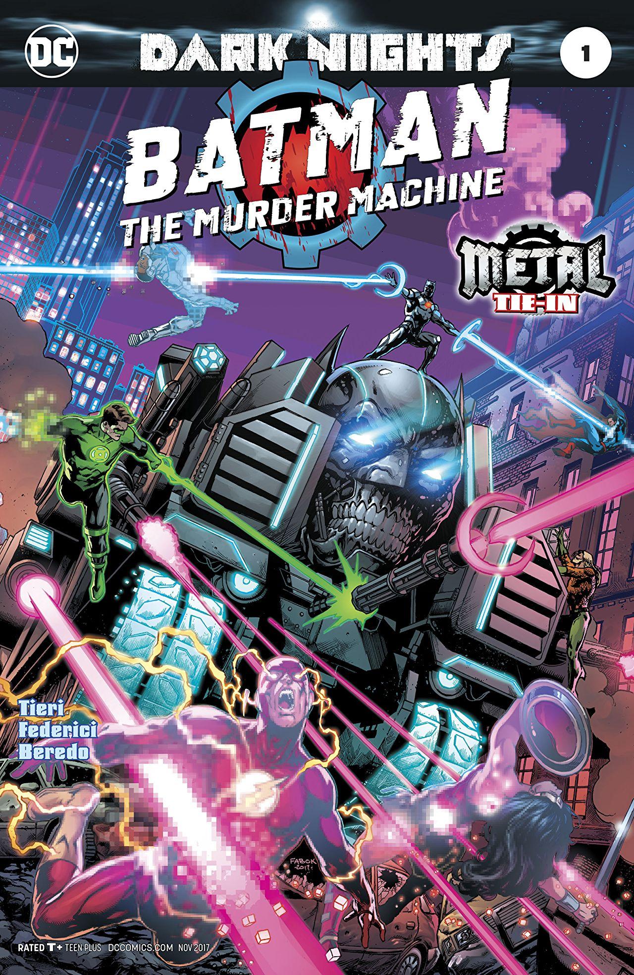 Batman: A Máquina Assassina Vol 1 1