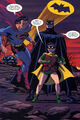 Batman's new look and Robin (New Frontier)