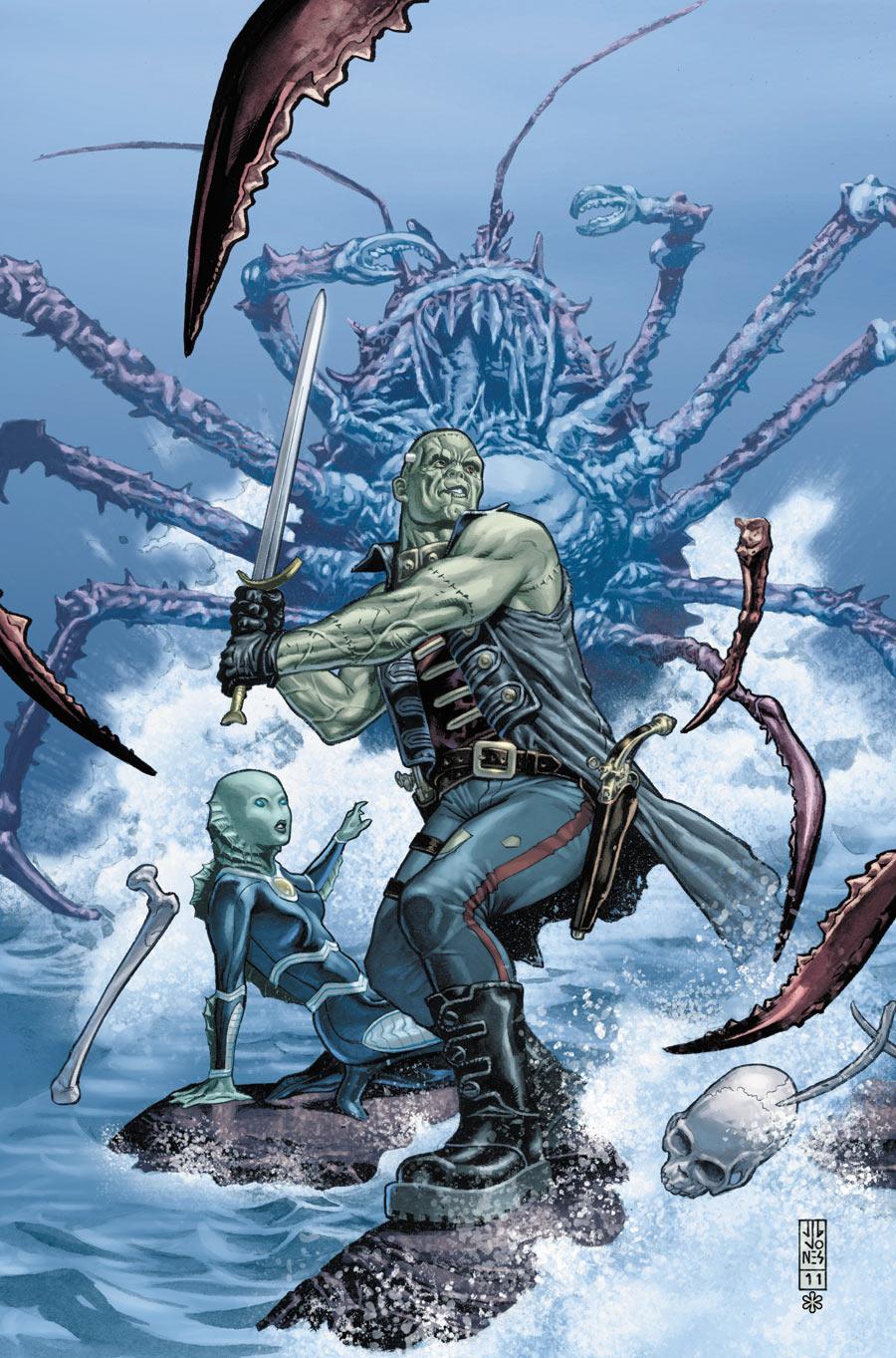 Frankenstein, Agente da S.O.M.B.R.A. Vol 1 3