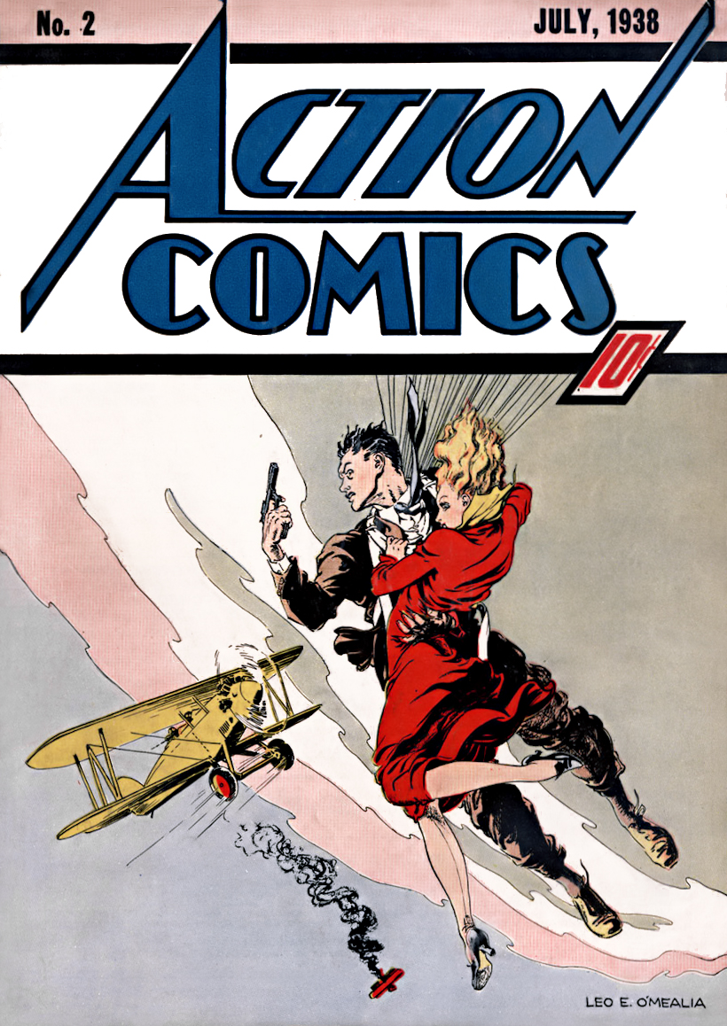 Action Comics Vol 1 2