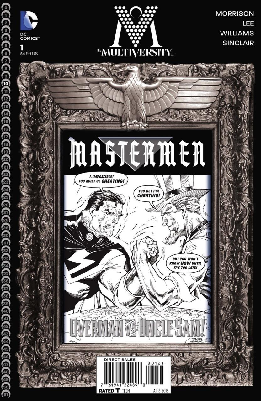 The Multiversity Mastermen Vol 1 1 Black and White Variant.jpg