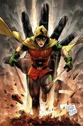 Damian Son of Batman Vol 1 1 Textless Variant