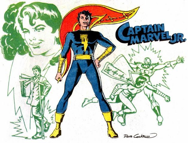 Capitão Marvel, Jr.