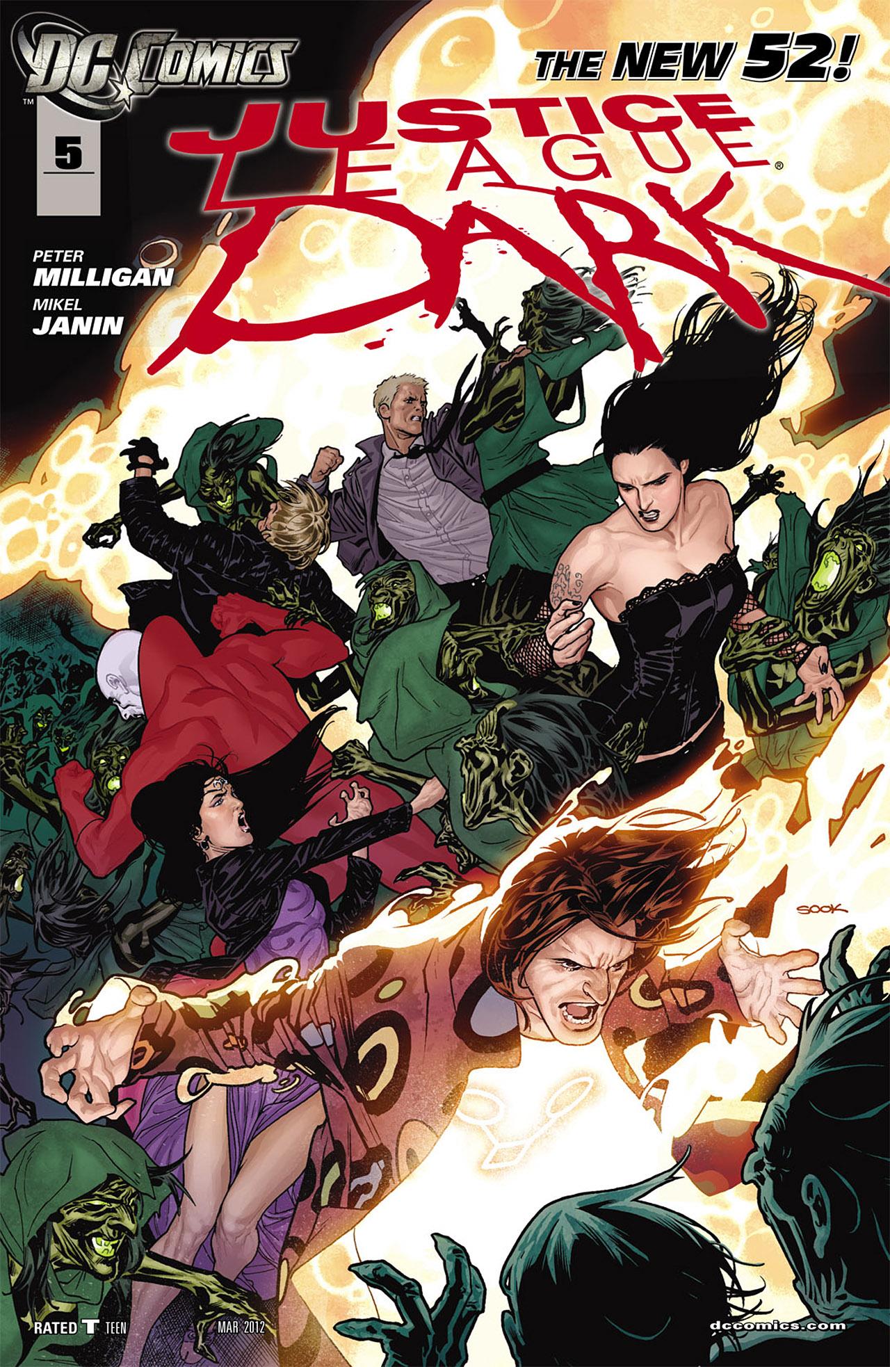 Liga da Justiça Sombria Vol 1 5