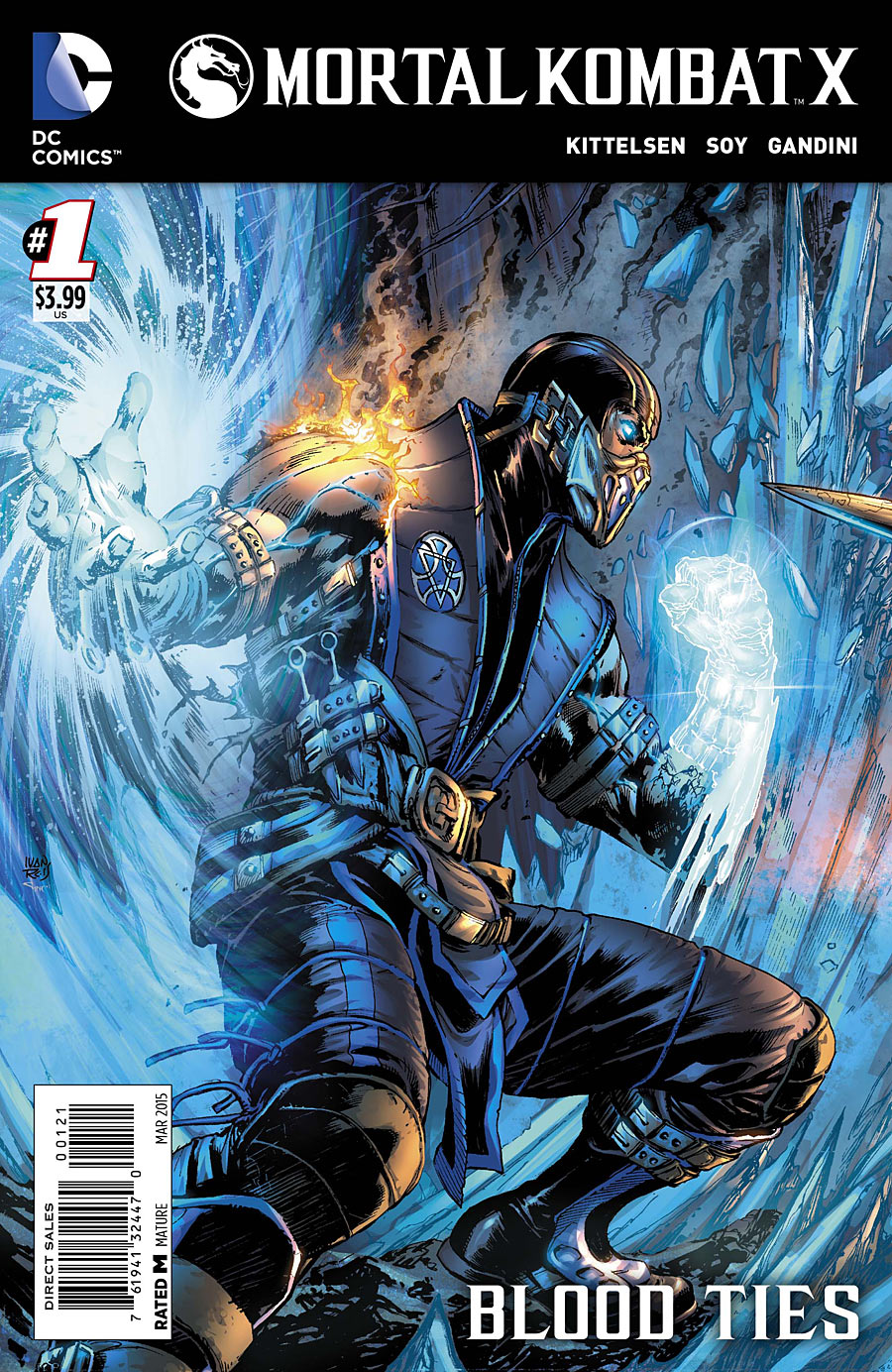 Mortal Kombat X Vol 1