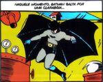 O primeiro traje do Batman