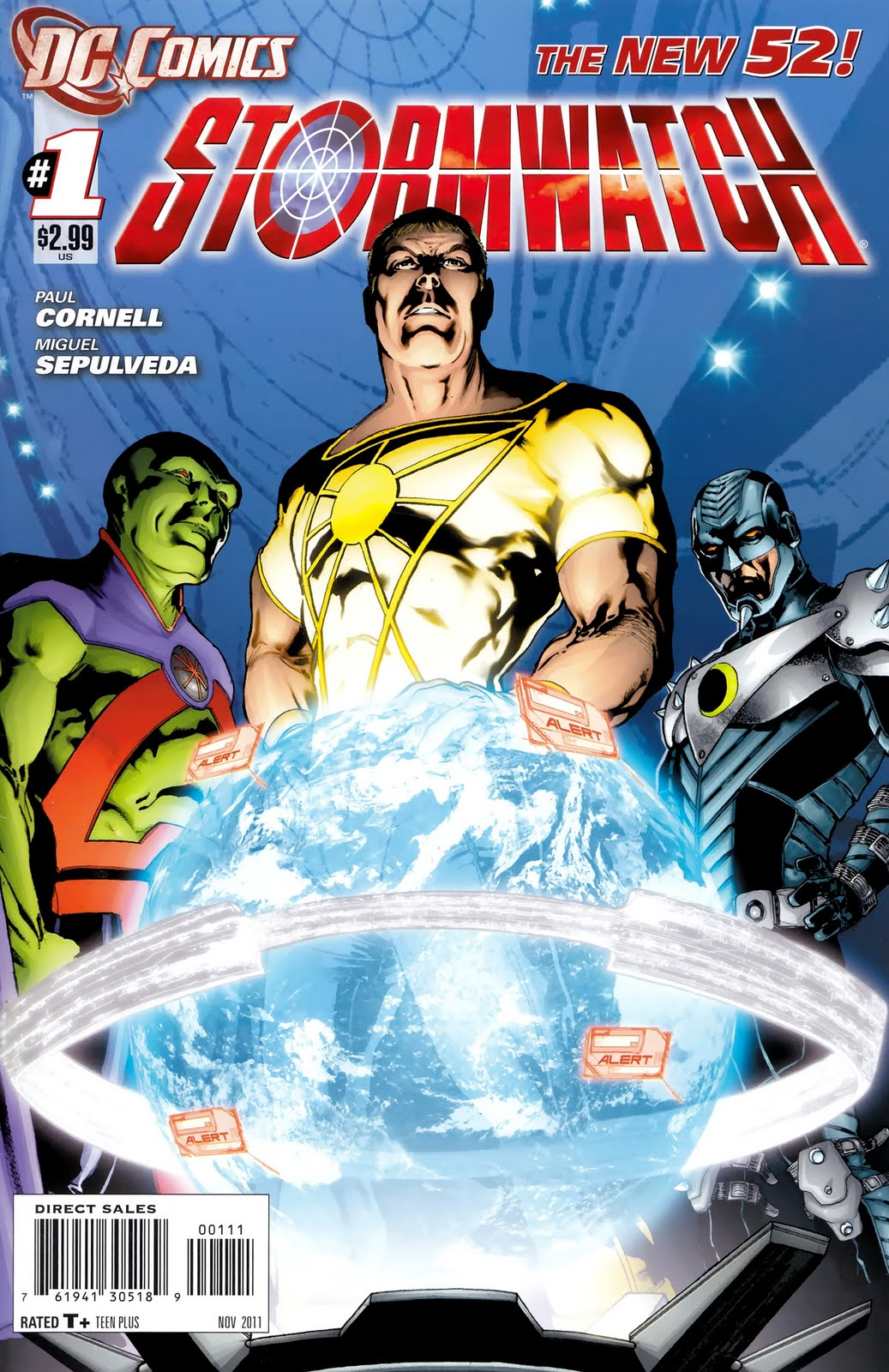 Stormwatch Vol 3 1