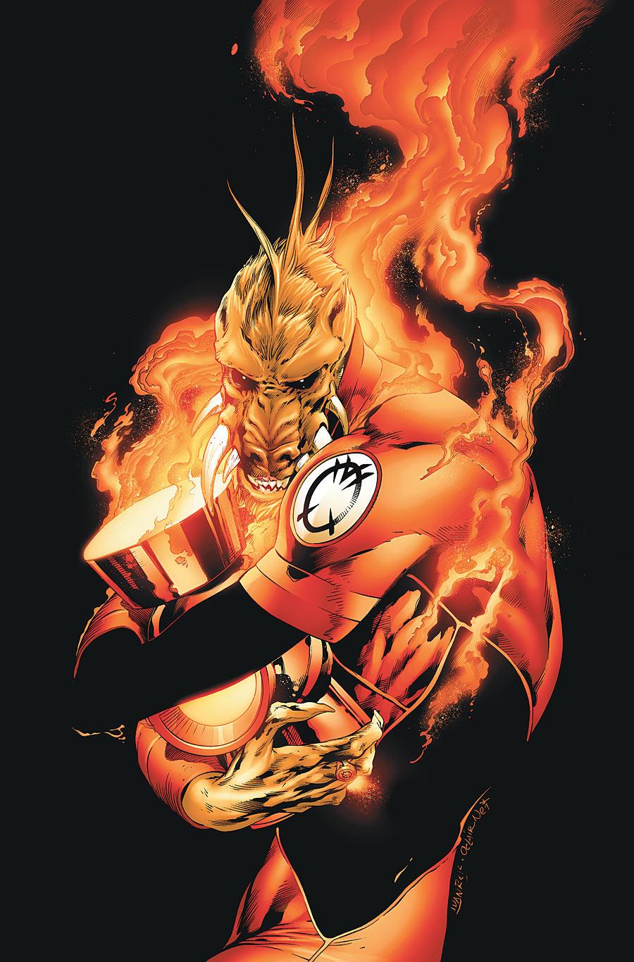 Membro da Tropa dos Lanternas Laranjas
