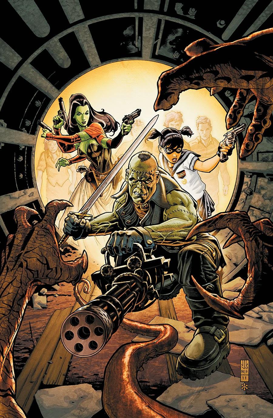 Frankenstein, Agente da S.O.M.B.R.A. Vol 1 1