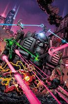 Máquina Assassina faz sua carnificina na Liga da Justiça