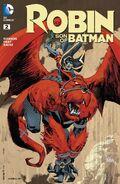 Robin Son of Batman Vol 1 2 Variant