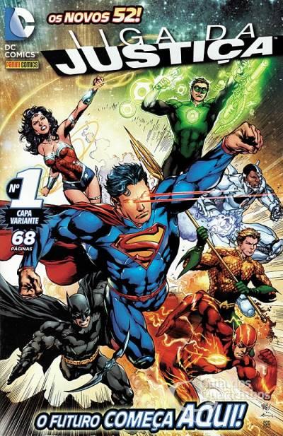 Liga da Justiça (Panini) Vol 2 1