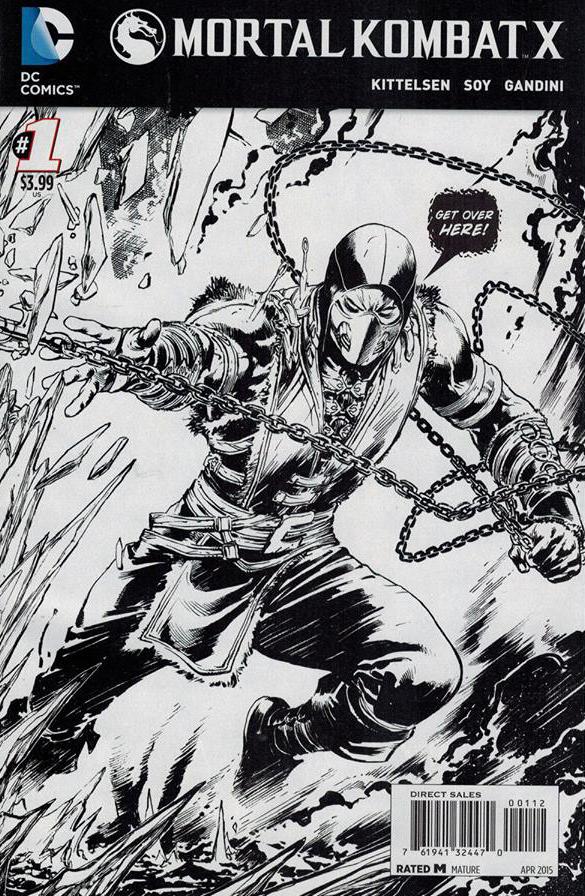Mortal Kombat X Vol 1 1 3ª Impressão Scorpion.jpg