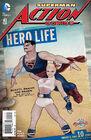 Action Comics Vol 2 43 Bombshell Variant