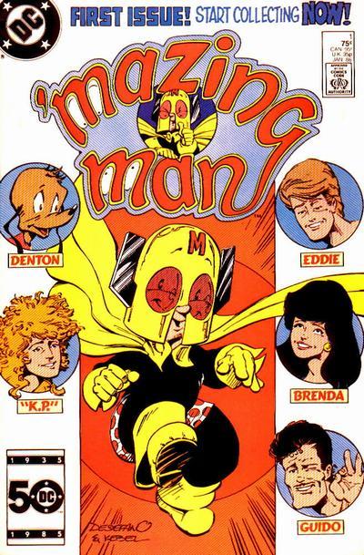 'Mazing Man Vol 1 1