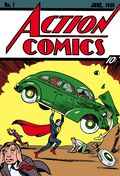 Action Comics #1 contou com a estréia de Superman