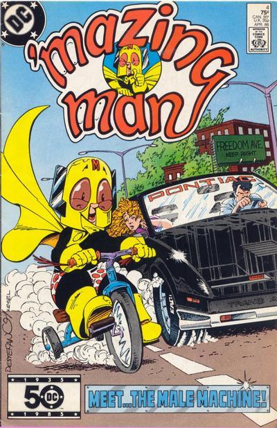 'Mazing Man Vol 1 4