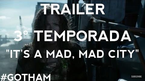 """Gotham - Trailer 3° Temporada """"It's a Mad, Mad City"""" Legendado"""