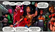 Justice Society Supergirl-Batgirl 001