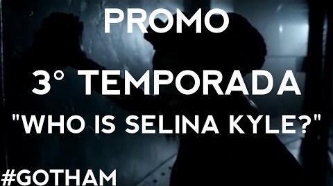 """Gotham - Promo 3° Temporada """"Who Is Selina Kyle?"""" Legendado"""