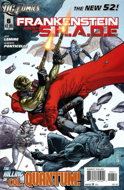 Frankenstein, Agente da S.O.M.B.R.A. Vol 1 6
