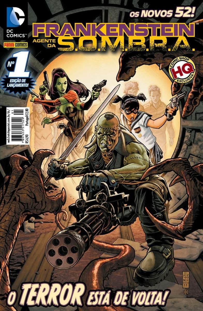 Frankenstein, Agente da S.O.M.B.R.A. (Panini) Vol 1 1
