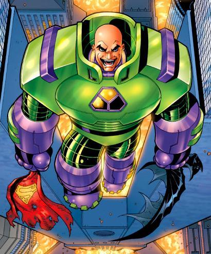 Traje de Guerra de Lex Luthor