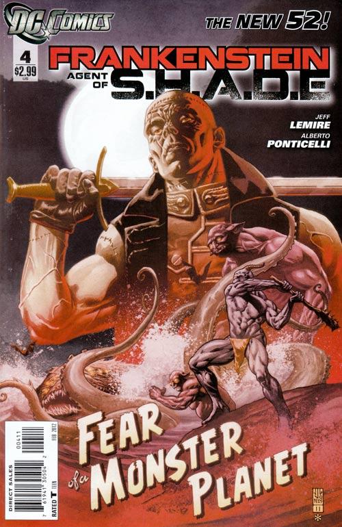 Frankenstein, Agente da S.O.M.B.R.A. Vol 1 4