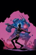 "Jim Gordon - o novo Batman, e seu bat-traje robô ""Rookie"""