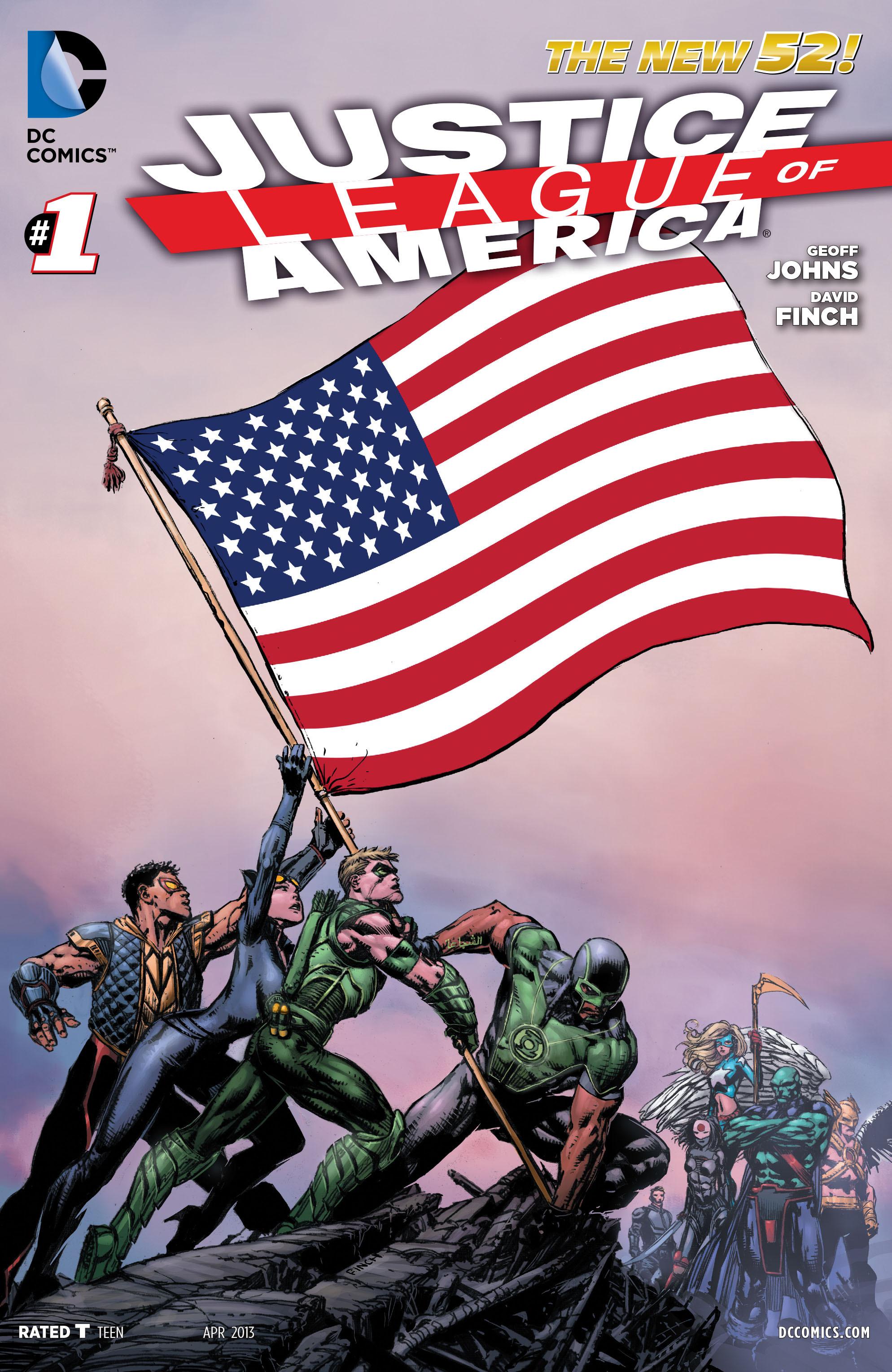 Liga da Justiça da América Vol 3 1
