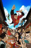 New Super-Man Vol 1 2 Textless Variant