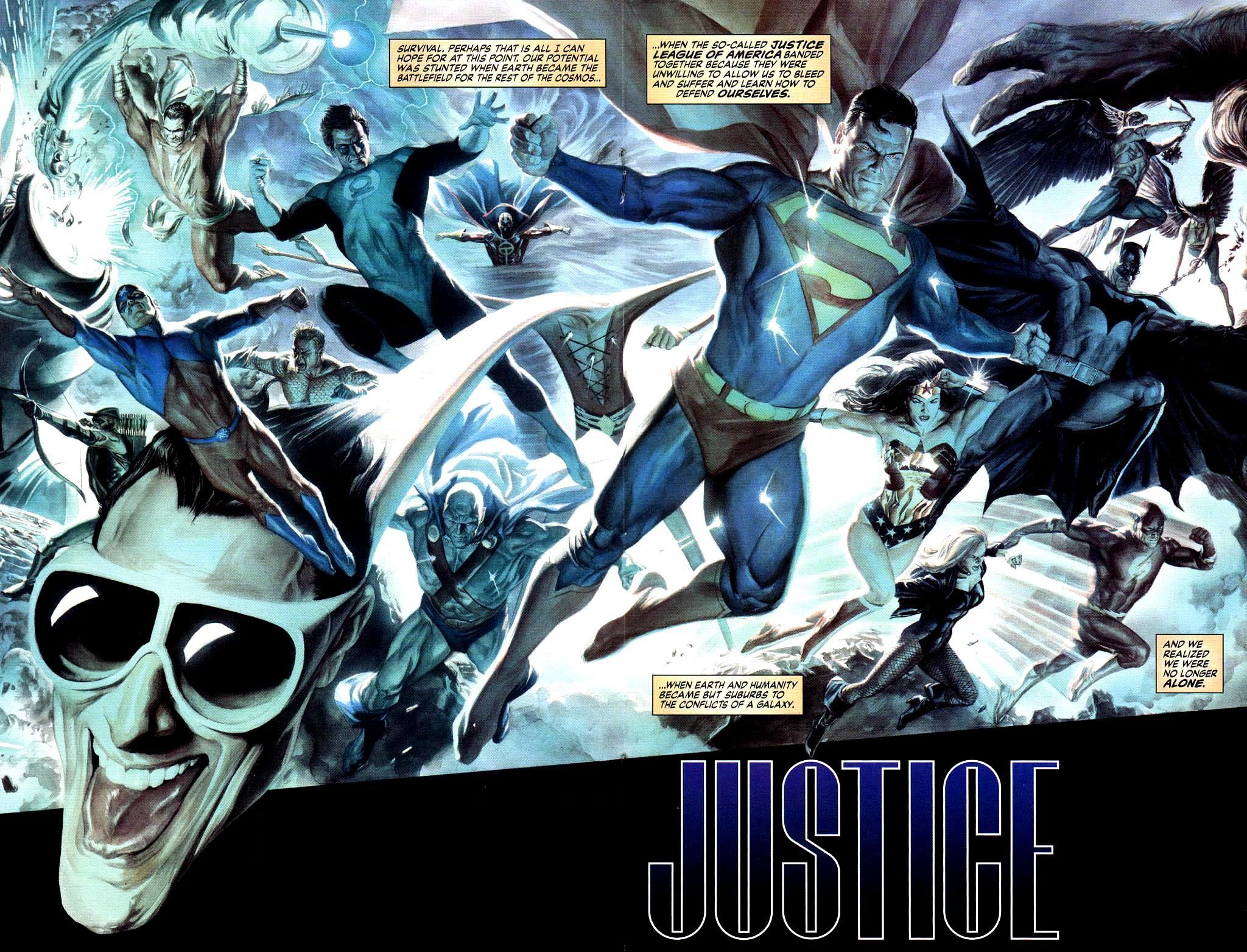 Liga da Justiça da América (Justiça)