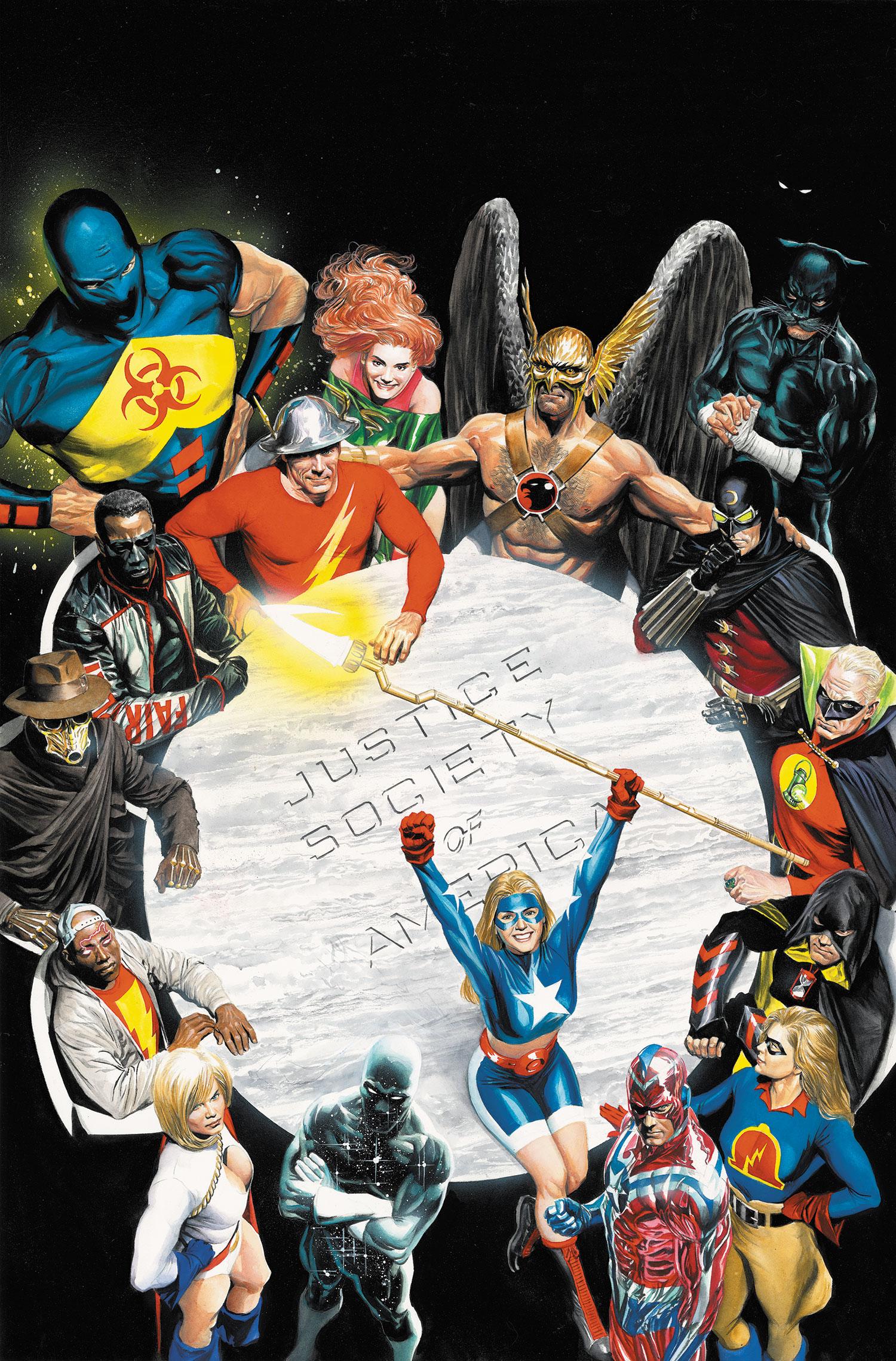 Sociedade da Justiça da América (Nova Terra)