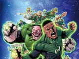 Tropa dos Lanternas Verdes (Terra Primal)