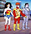 Bizarro Super Powers Team (Super Friends) 001