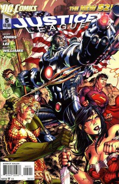 Liga da Justiça Vol 2 5