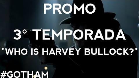 "Gotham - Promo 3° Temporada ""Who Is Harvey Bullock?"" Legendado"