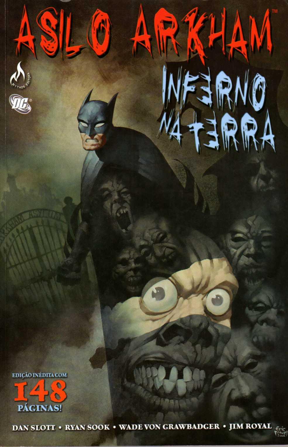 Asilo Arkham - Inferno Na Terra (Mythos)