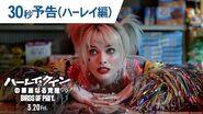 映画『ハーレイ・クインの華麗なる覚醒 BIRDS OF PREY』30秒予告(ハーレイ編) 2020年3月20日(金)公開