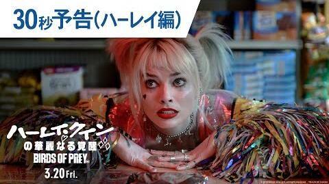 映画『ハーレイ・クインの華麗なる覚醒_BIRDS_OF_PREY』30秒予告(ハーレイ編)_2020年3月20日(金)公開