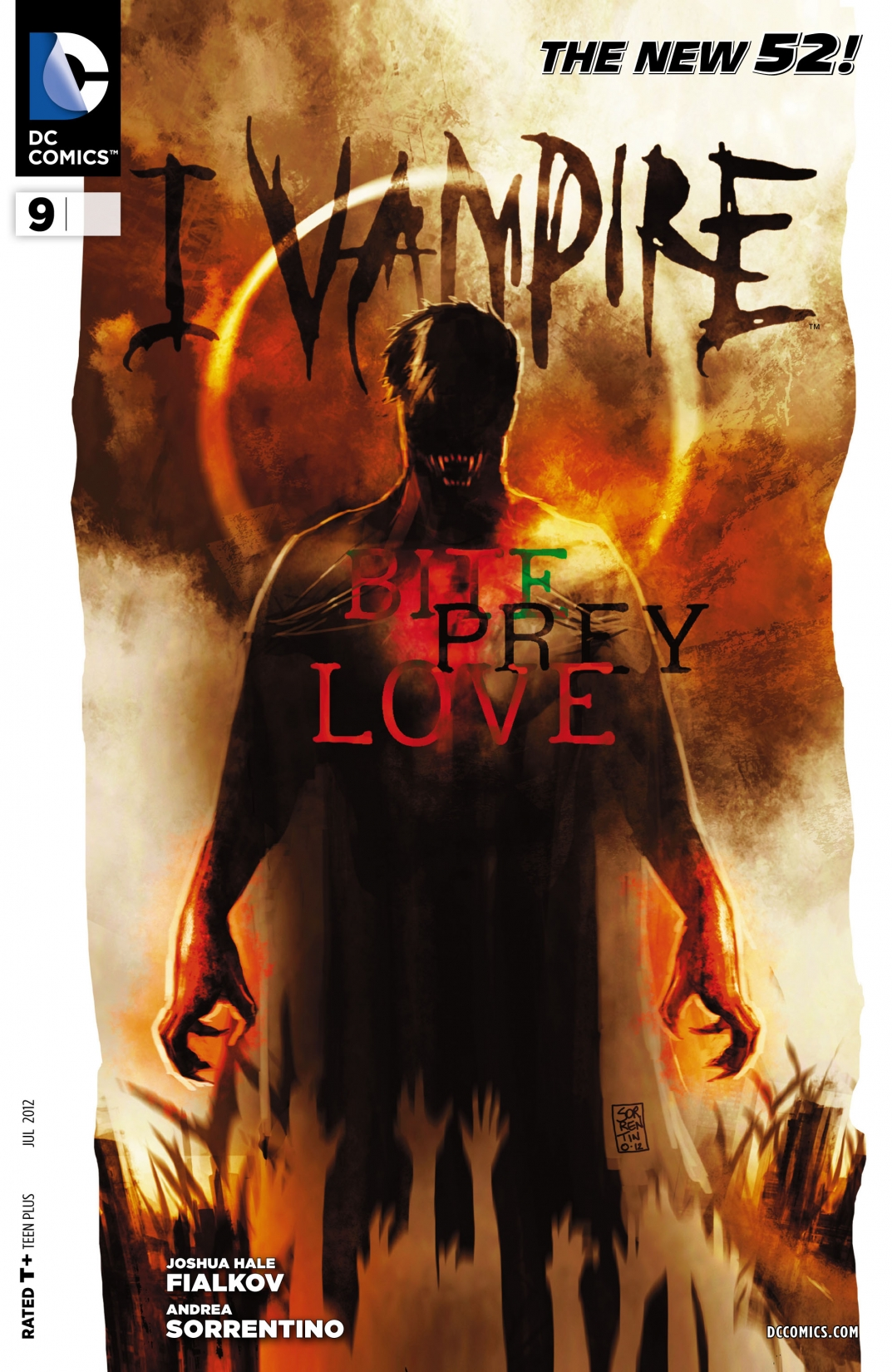 Eu, Vampiro Vol 1 9