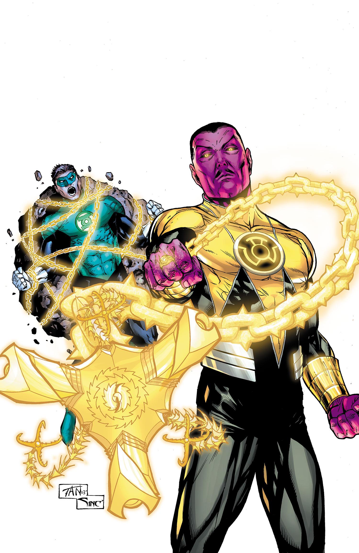 Thaal Sinestro (Terra Primal)