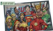 Justice League The Birds of Christmas Past, Present and Future 0001