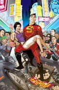 New Super-Man Vol 1 1 Textless Variant