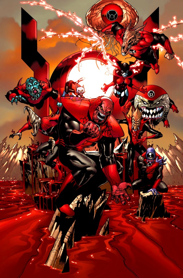 Tropa dos Lanternas Vermelhos (Nova Terra)