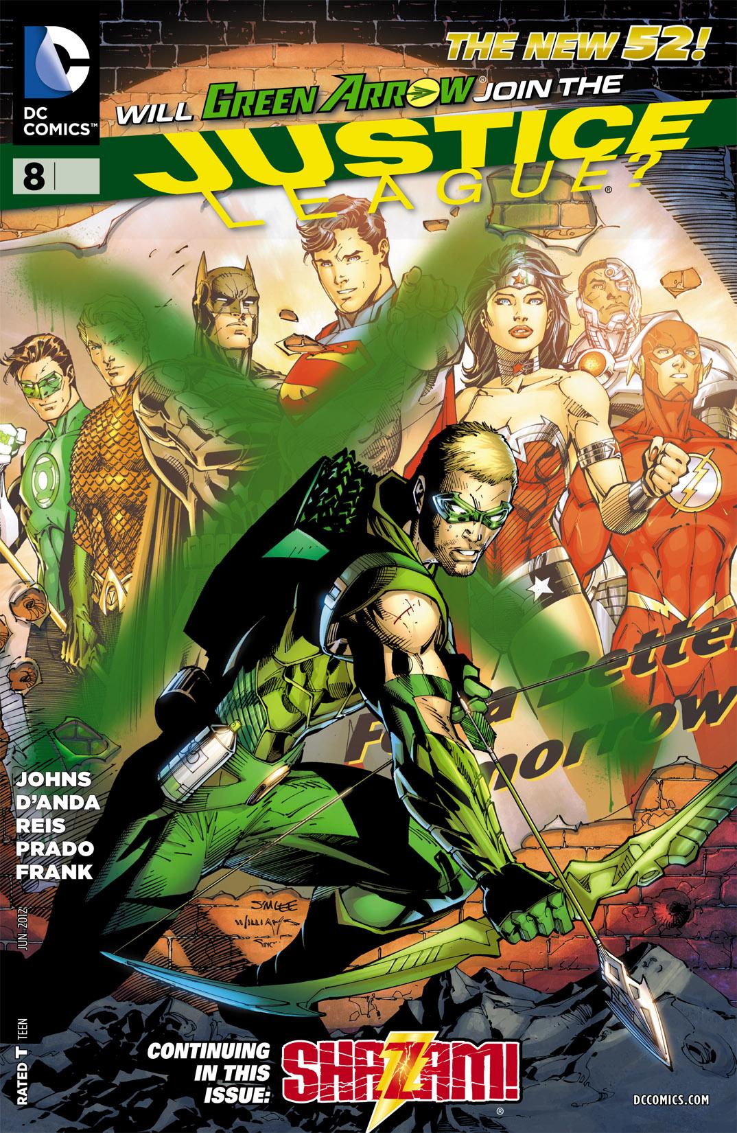 Liga da Justiça Vol 2 8
